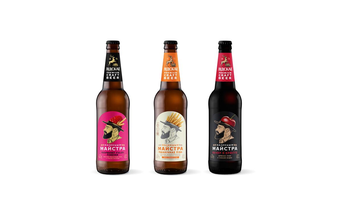 Кто стоит за брендом «КАЛЕКЦЫЯ МАЙСТРА»? «Лидское пиво» отвечает новым дизайном упаковки